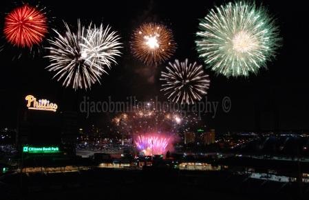 Phillies Fireworks